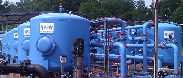 Multimedia Filtration System for Cyanide Destruction